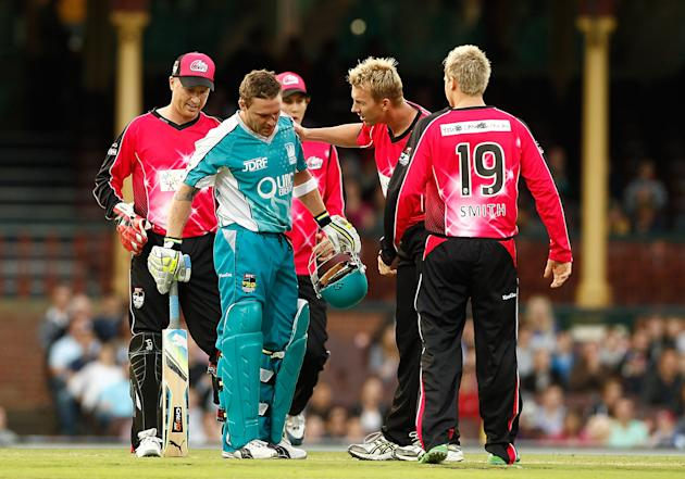Big Bash League - Sixers v Heat