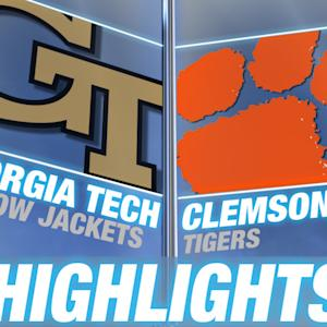 Georgia Tech vs Clemson | 2014-15 ACC Men's Basketball Highlights