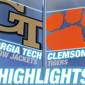 Georgia Tech vs Clemson | 2014-15 ACC Men's Basketball Highlights