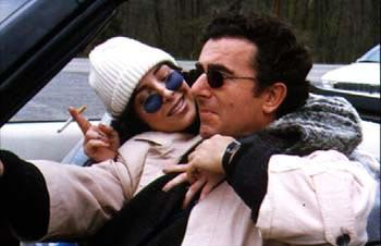 Caroleen Feeney and Saul Rubinek in Phaedra Cinema's Bad Manners