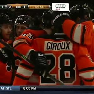 Michael Raffl Goal on Alex Stalock (06:44/1st)