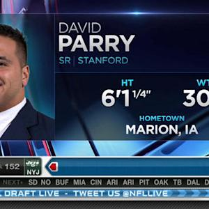 Indianapolis Colts pick defensive lineman David Parry No. 151 in 2015 NFL Draft