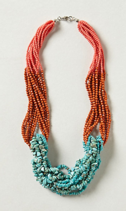 Tropic Waters Necklace, $48