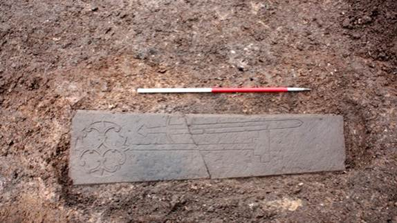 Medieval Knight's Tomb Found Beneath Parking Lot