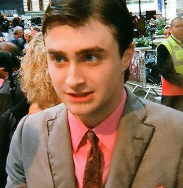 British actor Daniel Radcliffe at the London premiere of Harry Potter and the Half-Blod Prince