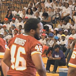 Houston Texans, Kansas City Chiefs and Washington Redskins host kids events in the spirit of staying active