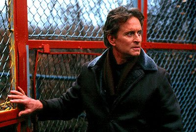 Michael Douglas as Dr. Nathan Conrad in 20th Century Fox's Don't Say A Word