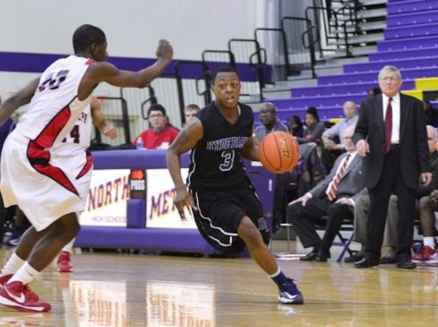 Chicago prep basketball standout Malcolm Whitney (3) died of an alleged accidental shooting -- Chicago Sun-Times