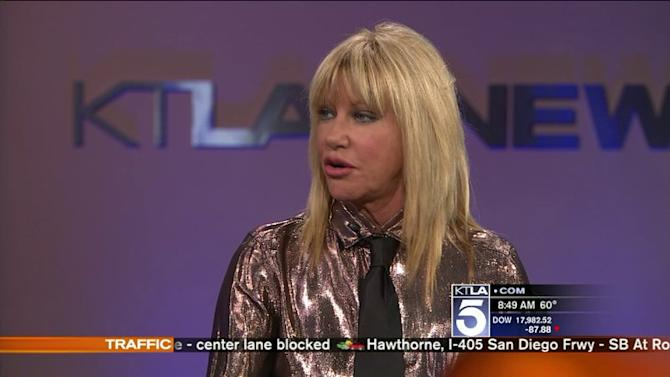 Suzanne Somers Goes `From Toxic To Not Sick`