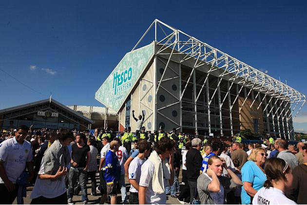 Matches at Elland Road have one of the worst records of football-related violence