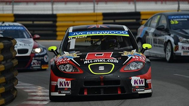 Rob Huff fastest in Macau test