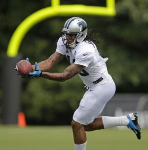 Panthers WR Benjamin feels 'like a new man'