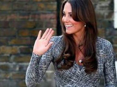 Duchess Kate Shows Off Bump, …
