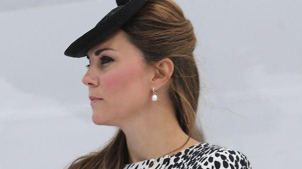 Duchess Kate Can't Stand the Heat