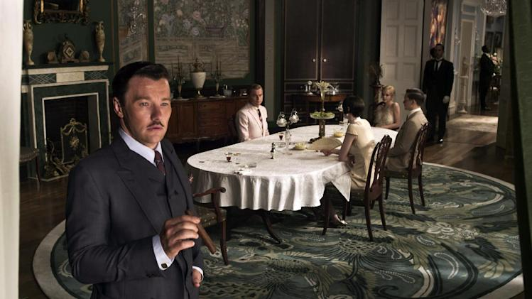"""This film publicity image released by Warner Bros. Pictures shows Joel Edgerton as Tom Buchanan in a scene from """"The Great Gatsby."""" (AP Photo/Warner Bros. Pictures)"""