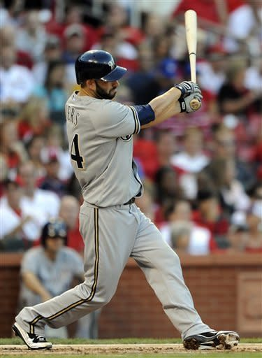 Ramirez homers, scores twice as Brewers beat Cards