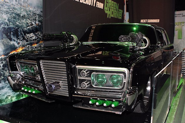 Hollywood Auto Show The Green Hornet Car
