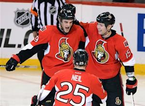 Regin scores in shootout as Sens top Canadiens 2-1