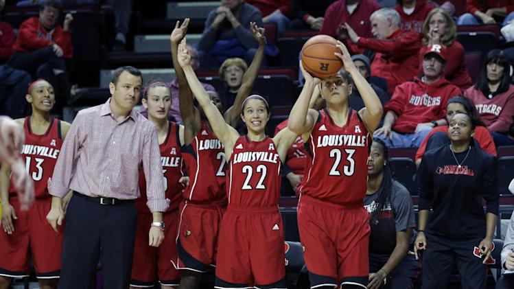 Louisville's Shoni Schimmel shines from outside