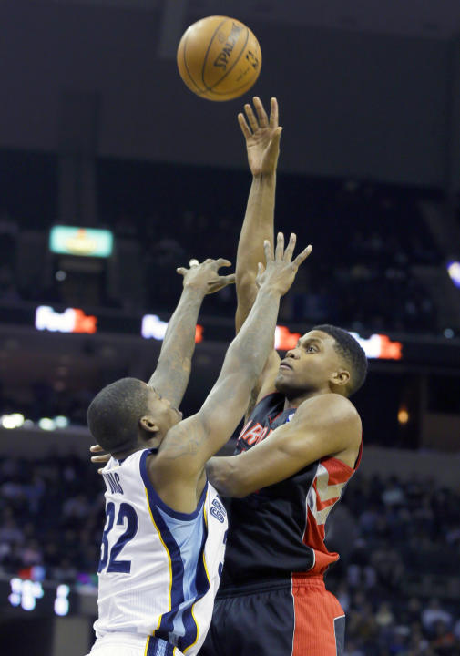 Gay's 23 leads Raptors past Grizzlies 103-87