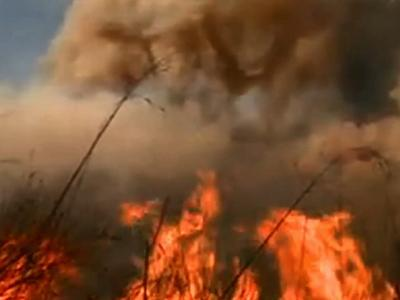 Raw: So. Calif. Fire Threatens Dozens of Homes