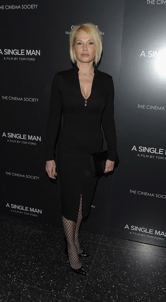 A Single Man NY Screening 2009 Ellen Barkin
