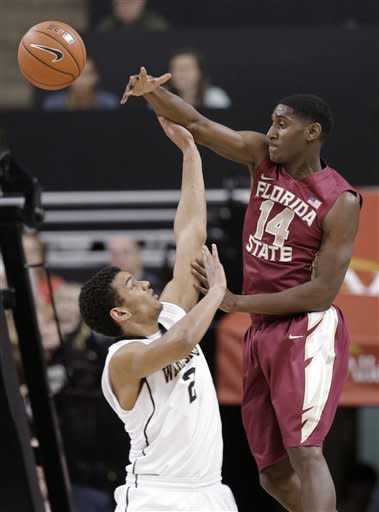 Wake Forest rolls past Florida State 71-46