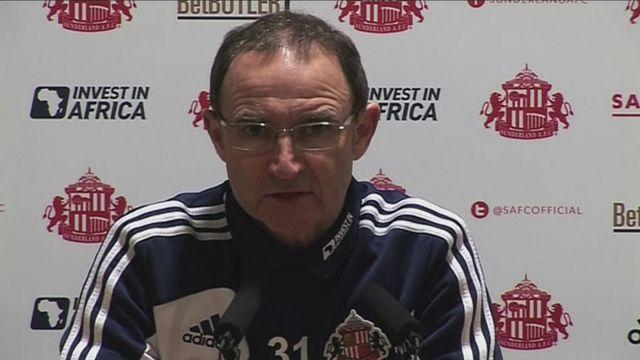 Martin O'Neill sees positives following Man United defeat [AMBIENT]