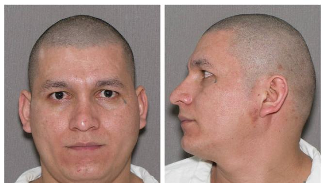 Combination photo of Marvin Garcia a murderer escaped from a state prison in Amarillo Texas