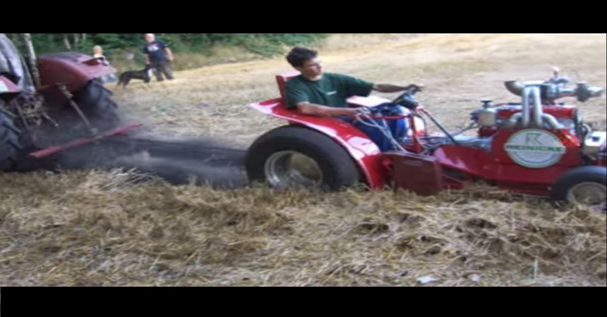 Insane Lawnmower Pull! (You Won't Believe This)