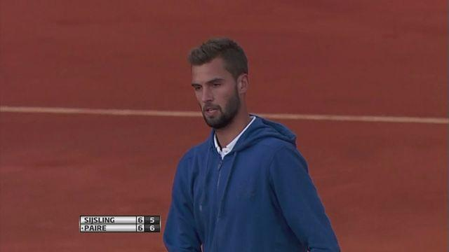 First round wins for Paire and Goffin at Portugal Open