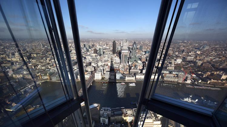 Shard Skyscraper Previews Viewing Platform