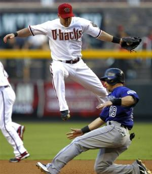 Kennedy whiffs 12 as D-backs blank Rockies 10-0