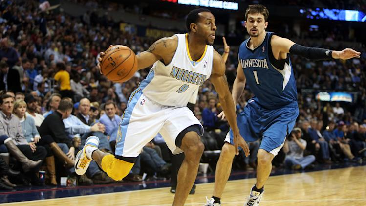 NBA: Minnesota Timberwolves at Denver Nuggets