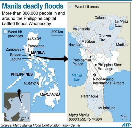 Manila deadly floods