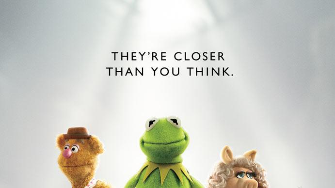 The Muppets Walt Disney 2011 Poster