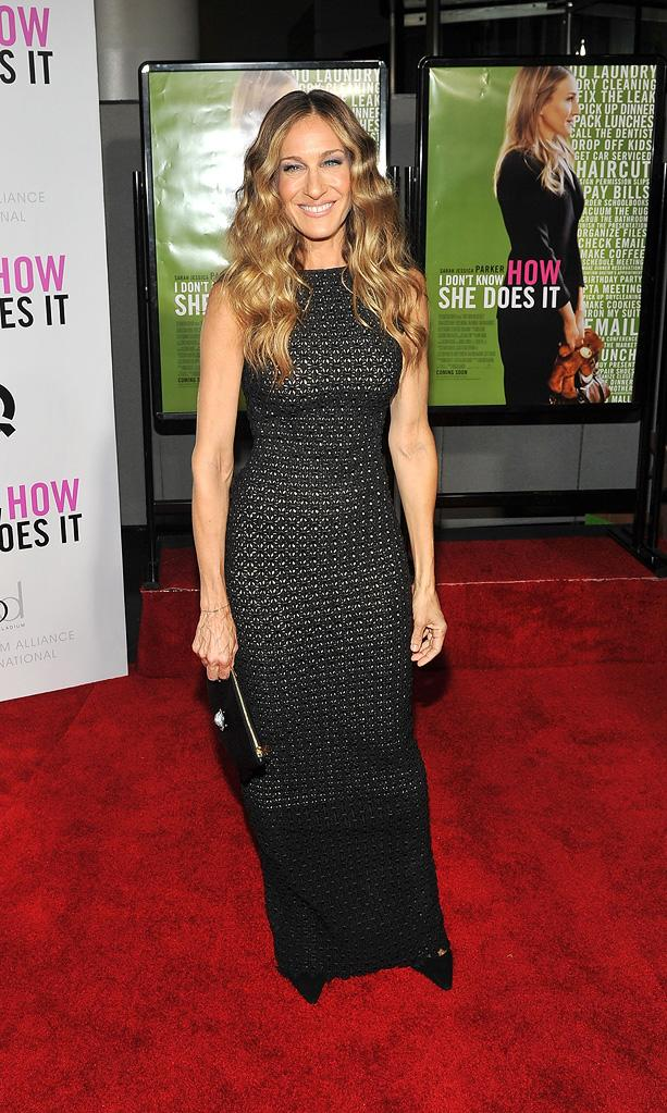 I Don't Know How She Does It NY Premiere 2011 Sarah Jessica Parker