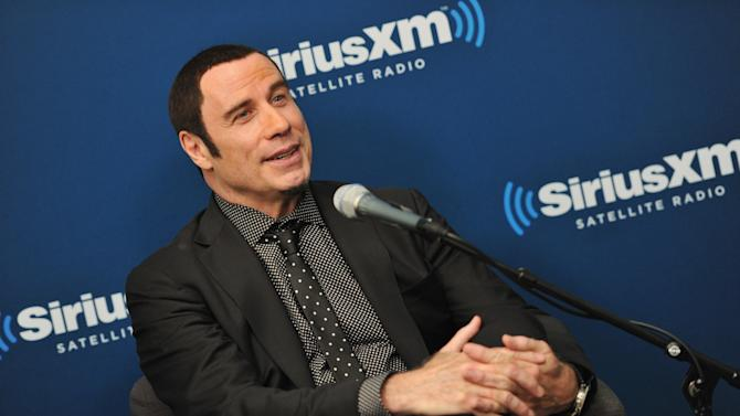 SiriusXM's Town Hall With John Travolta And Olivia Newton-John With Host Didi Conn At The SiriusXM Studios