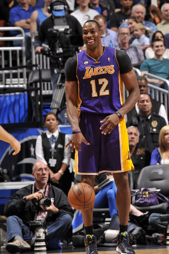 Howard scores 39, leads Lakers past Magic 106-97