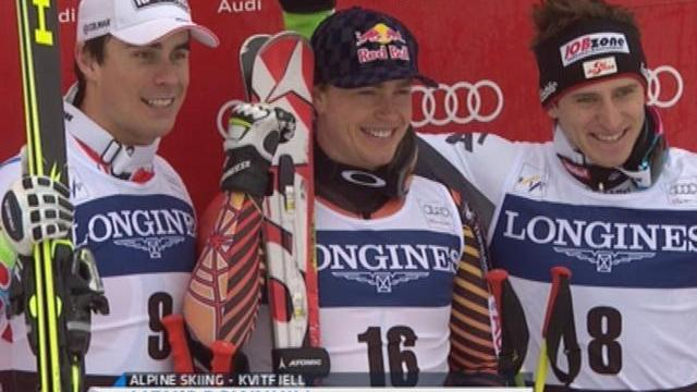 Guay rules second downhill race at Kvitfjell