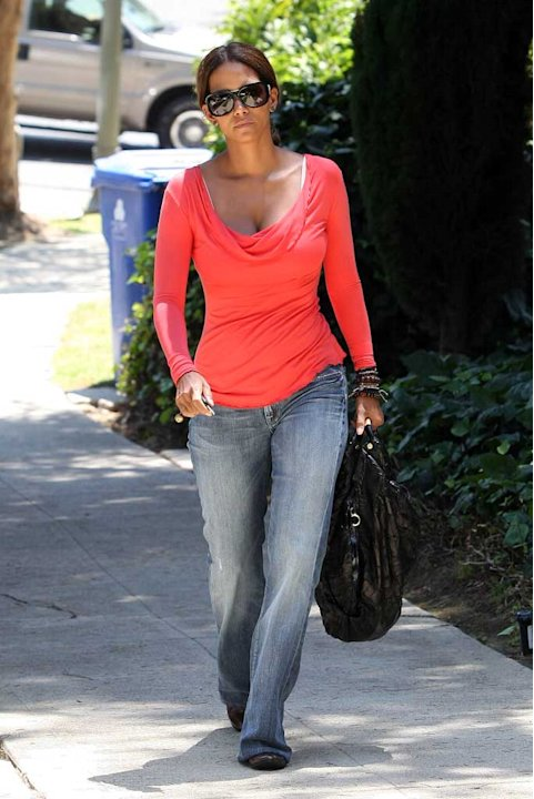 Halle Berry Pissed