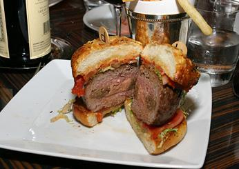 The Original db Burger at db Bistro Moderne, New York City