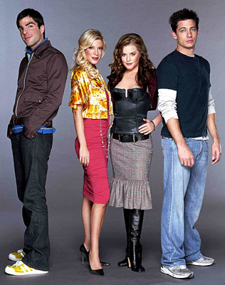 Zachary Quinto, Tori Spelling, Brennan Hesser, James Carpinello