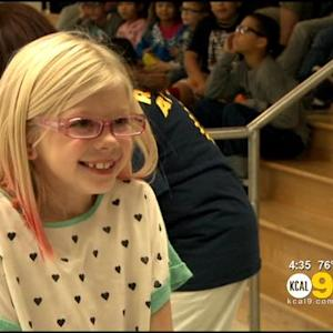 Redondo Beach Elementary School Students Receive Gift Of Better Vision