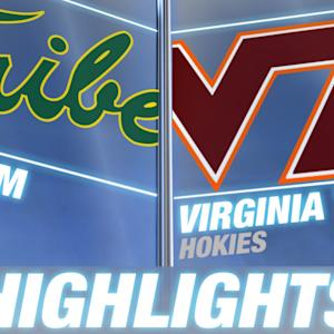 William & Mary vs Virginia Tech | 2014 ACC Highlights