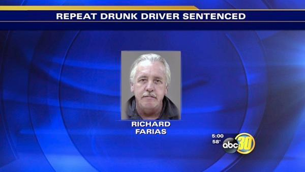Madera County man gets 35 to life in prison for fatal DUI crash