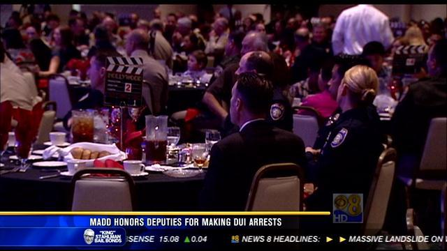 MADD honors deputies for making DUI arrests
