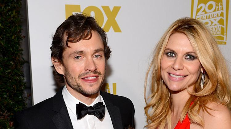 Fox Honors Their 70th Annual Golden Globe Awards Nominees And Winners At The Fox Pavilion At The Golden Globes - Red Carpet: Hugh Dancy and Claire Danes