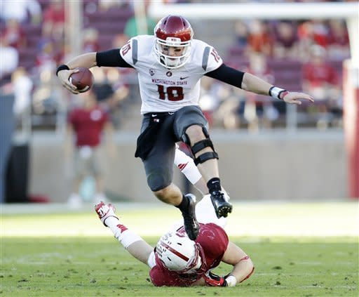 No. 19 Stanford sloppy in 24-17 win over Wash. St