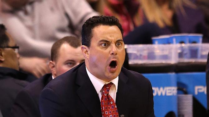 Sean Miller of the Arizona Wildcats